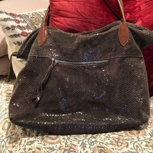 Sorial shoulder tote bag